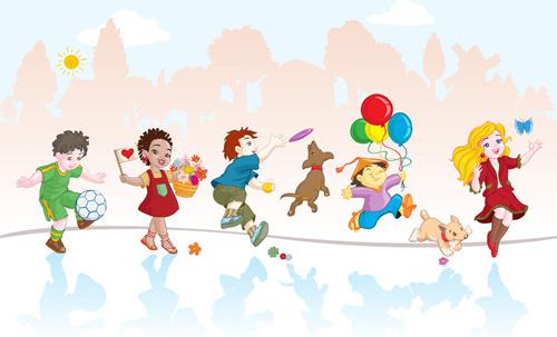 playing_children_cartoon_vector_set_521823.jpg